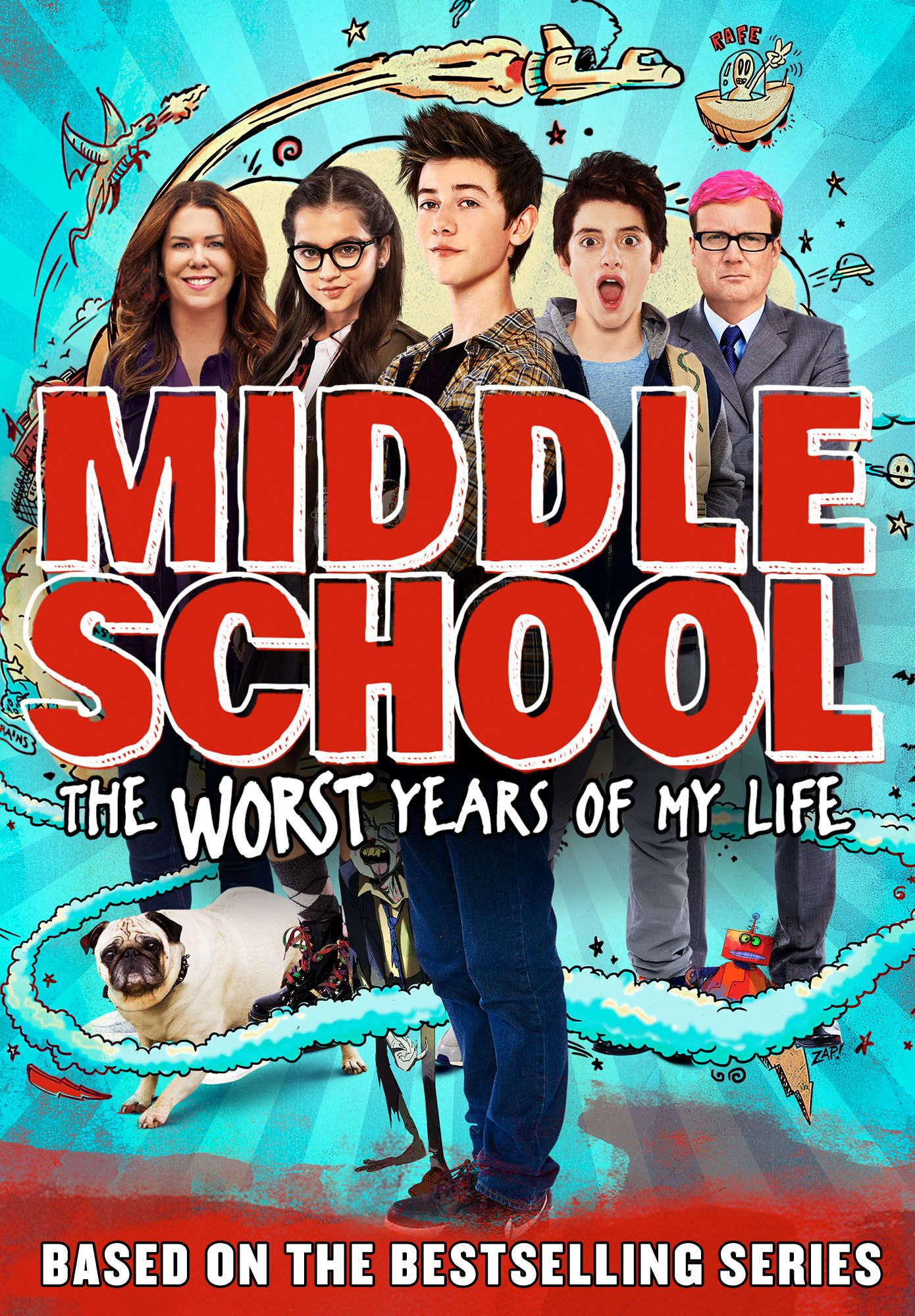 Rent Middle School: The Worst Years of My Life and other new DVD releases  and Blu-ray Discs from your nearest Redbox location.