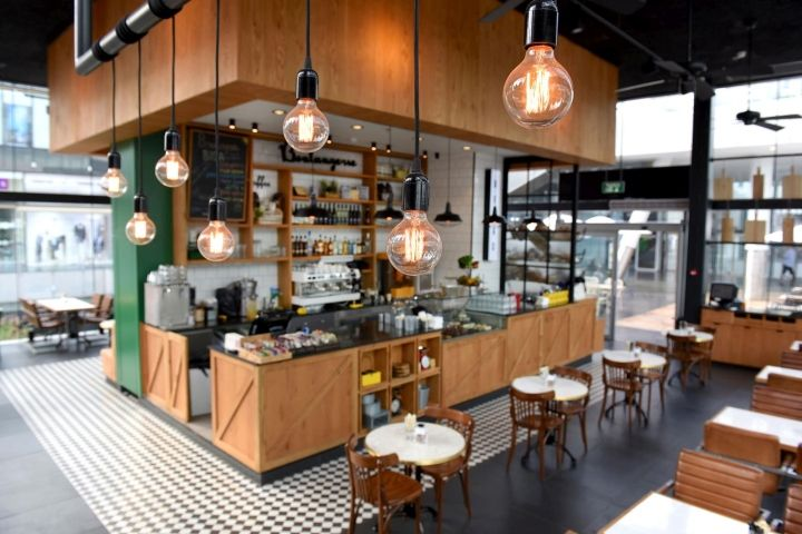 Biga Bakery U0026 Café By Eti Dentes Interior Design, Kfar Saba U2013 Israel »  Retail