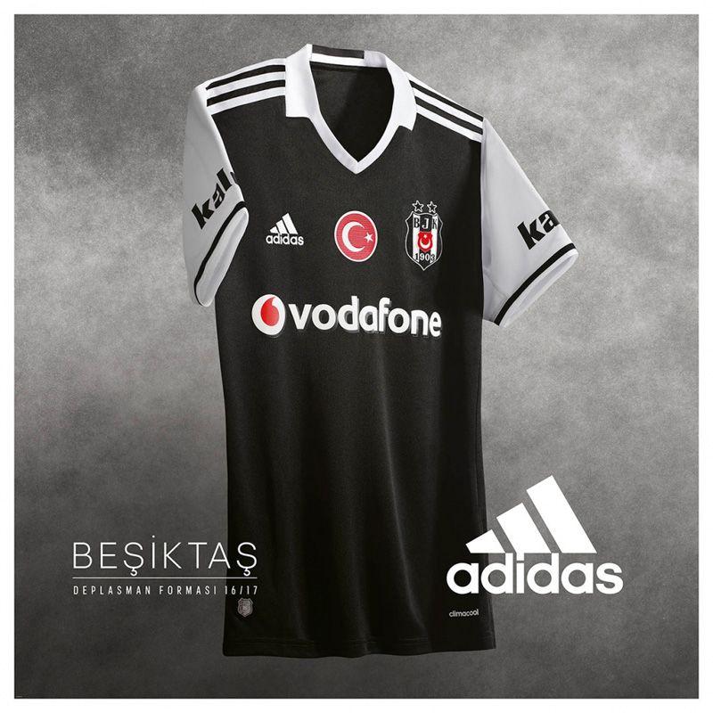Camisas do Besiktas 2016-2017 Adidas Reserva 5be8b763383d0
