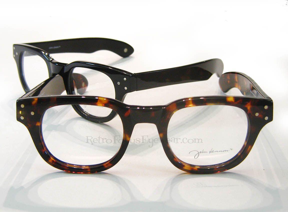 Optical Frames - John Lennon Retro 4 | Retro Focus Eyewear. Hornrim ...