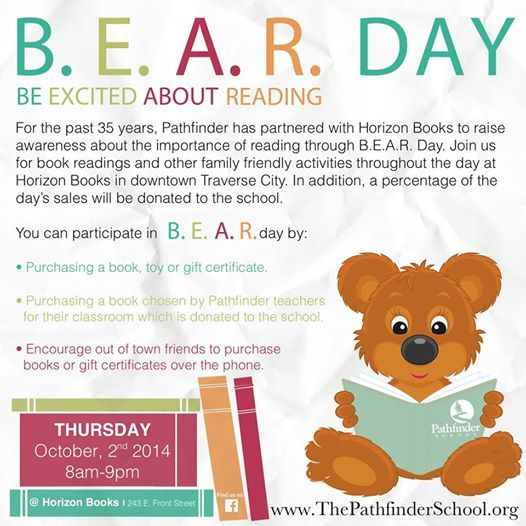 BEAR Day at TC's Horizon Books- Get this book: Nap time board book- SO CUTE- Nap-a-Roo Board Book for babies and toddlers.http://www.amazon.com/Nap-Roo-Kristy-Kurjan/dp/0986075000/ref=tmm_other_meta_binding_title_0?ie=UTF8&qid=1411841269&sr=8-1