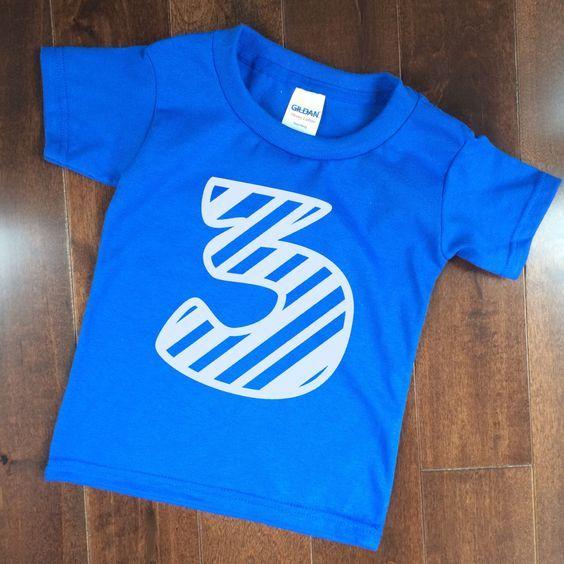 Image Result For Birthday T Shirt 3 Boy