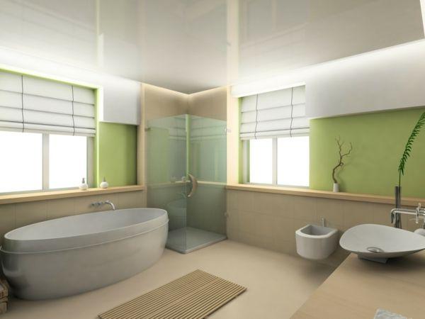 fenster rollos badewanne badezimmer raumplaner 3d Badezimmer - rollos für badezimmer