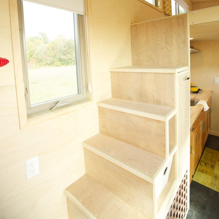 Steps And Ladder Ideas For Tiny Houses: Tiny House Stair Storage Instead Of Ladder. Perfect For