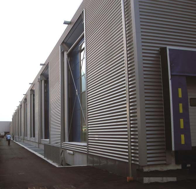 Aluminium Corrugated Cladding Architecture Google Search