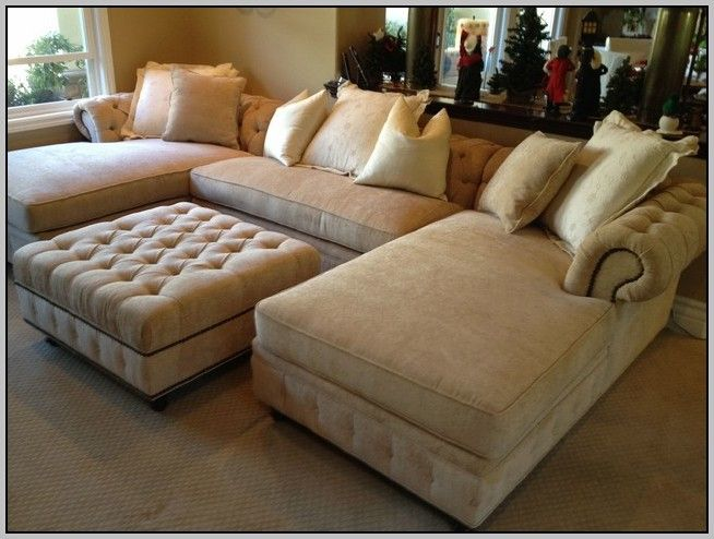 Living: Joyce Traditional Tan Oversized Chenille Sofa Couch Set ...