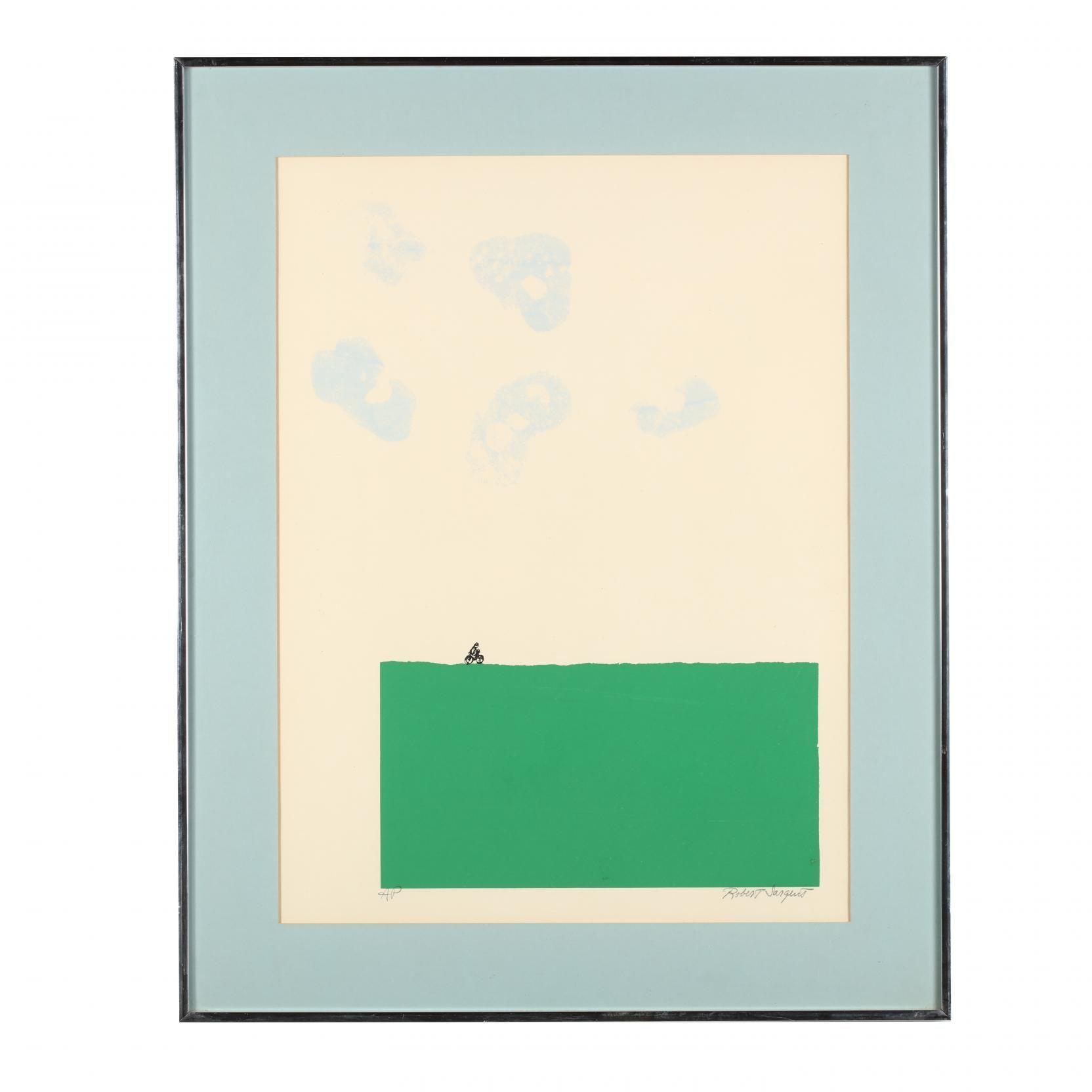 Robert Sargent (Am., 20th C), Color Screenprint: Leland Little Auctions