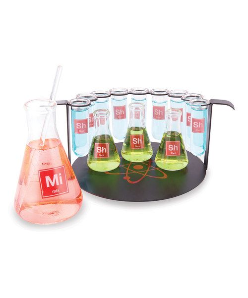 Create an unforgettable bar with this chemistry-inspired set Test