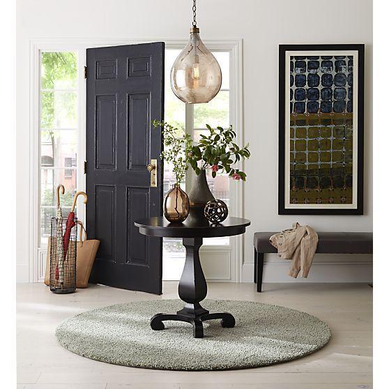Esme Bruno Pedestal Table As Entryway Table