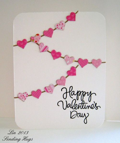 A Valentine S Day Card Cards Valentines And Love Pinterest