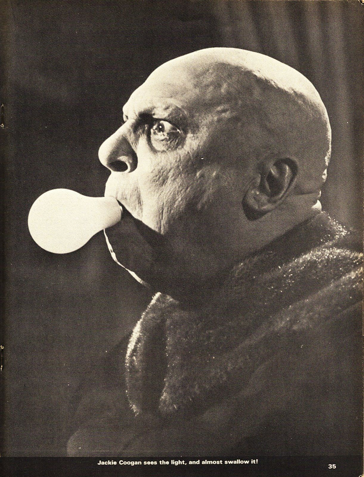 Uncle fester the addams family pinterest - Jackie Coogan As Uncle Fester In The Addams Family Original Tv Series That Joke Stopped Being Funny Efter 5 Episodes