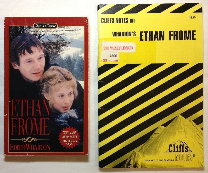 ethan frome by edith wharton cliffs notes paperback  ethan frome book vs movie essay jun 2011 · if you order your research paper from our custom writing service you will receive a perfectly written assignment