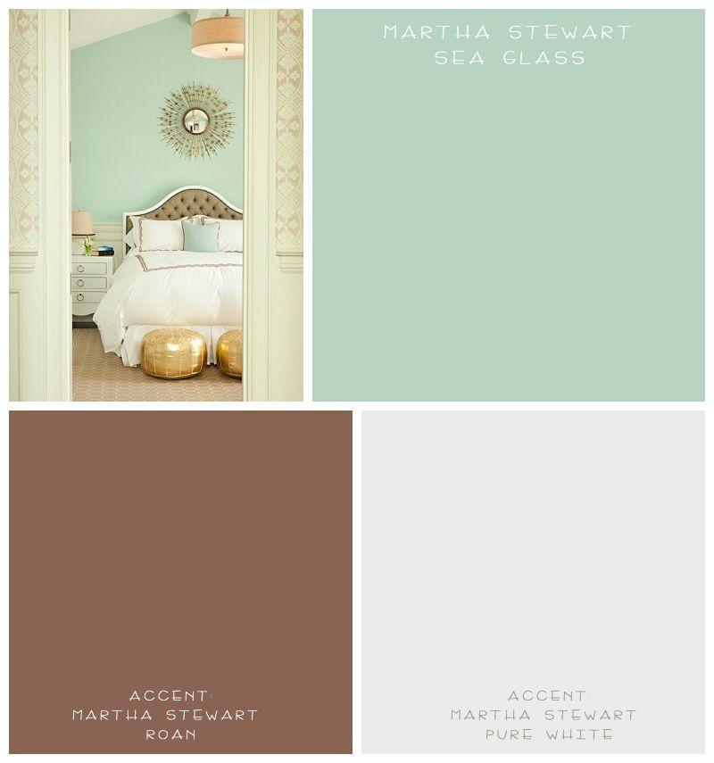 Britany Simon Design Fun With Paint Colors Arizona Midday Vert Chambre Chambre Vert