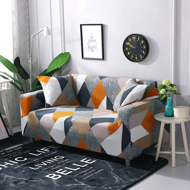 Modern Nordic Loft Sofa Cover With Images Printed Sofa Corner