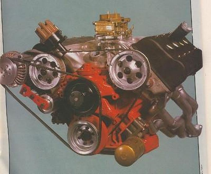 Rare four over-head cam Chrysler 426 Hemi. Only two were built.