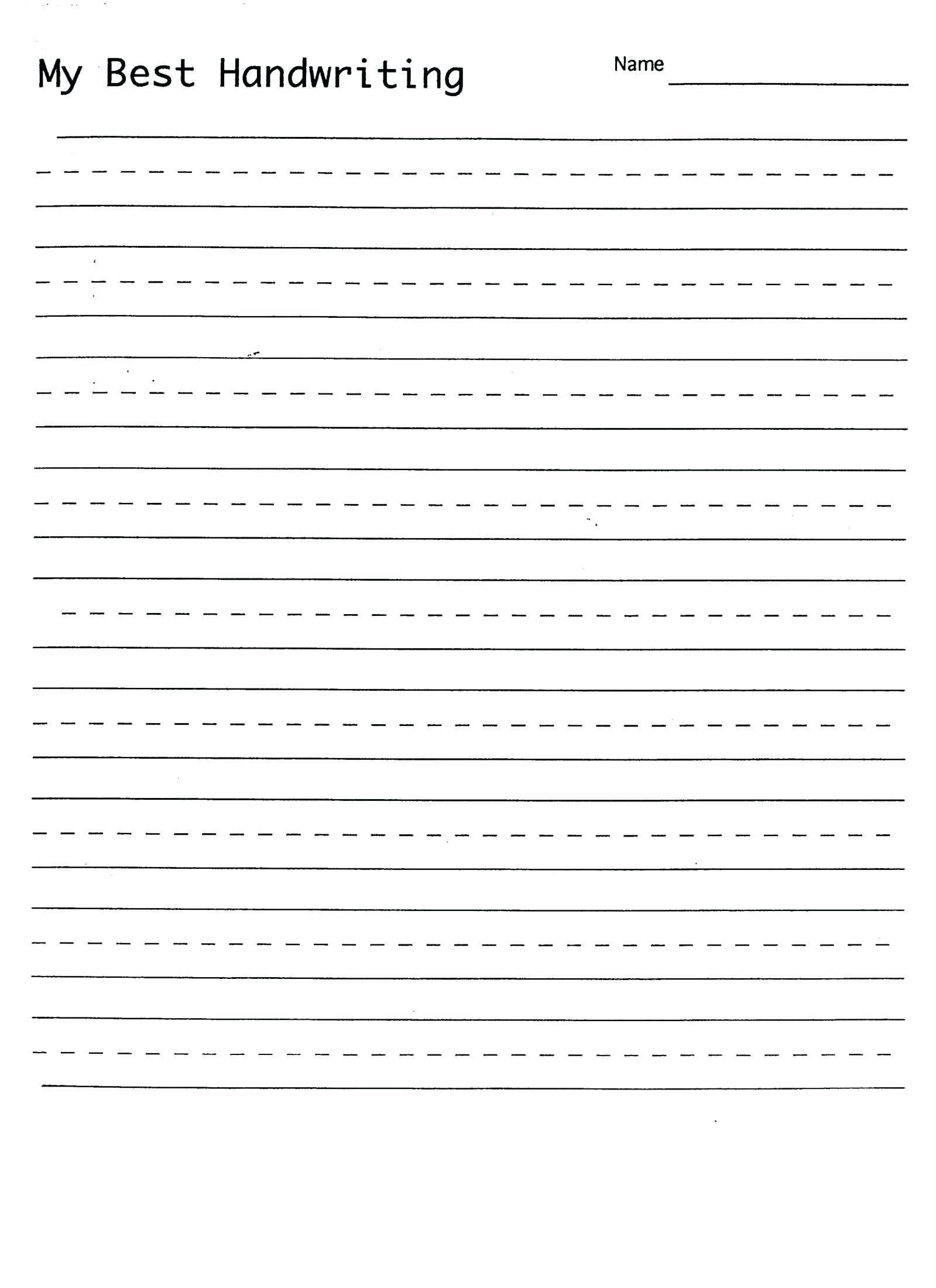 Abc Dotted Line Worksheet In