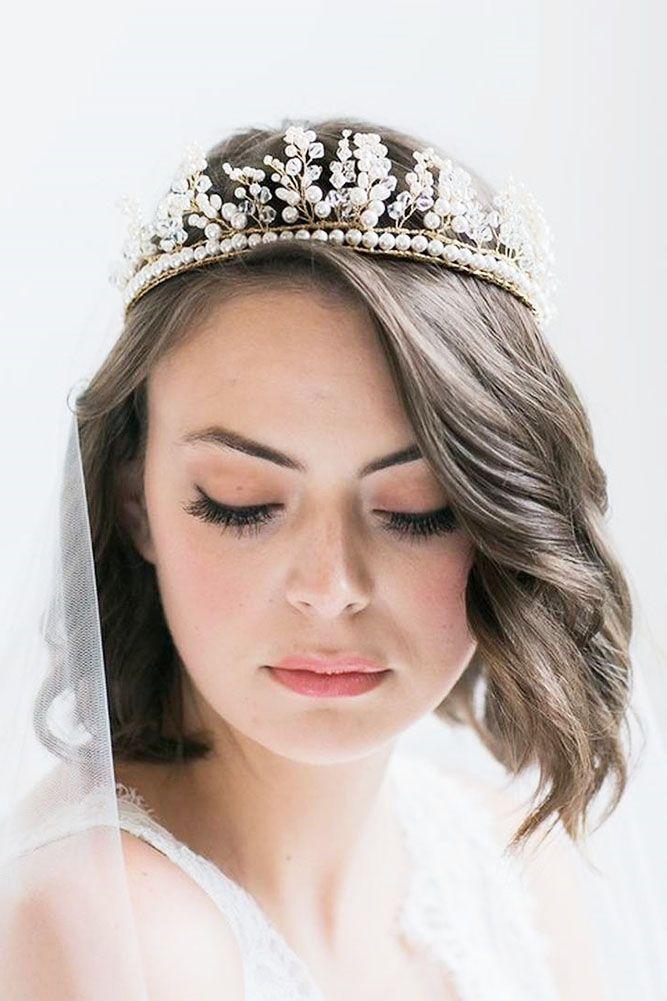 45 Wedding Hairstyles For Short Hair Short Wedding Hair Short