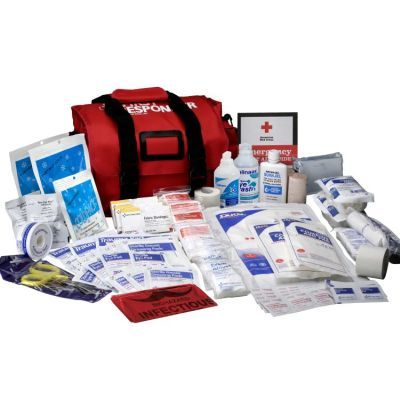 First Responder Kit 158 Piece 520 Fr Made By First Aid Only Cpr Savers And First Aid Supply First Aid Kit Emergency First Aid Kit First Aid Supplies