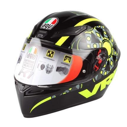 Agv K1 Valentino Rossi Helmet Genuine Vr46 Winter Test Christmas