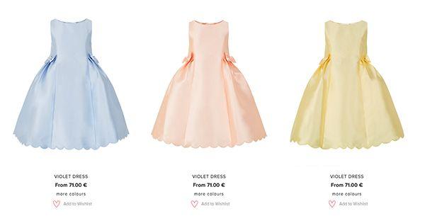 vestiti low cost per damigella d onore in raso e colori pastello Accessorize 5fc00340fc5
