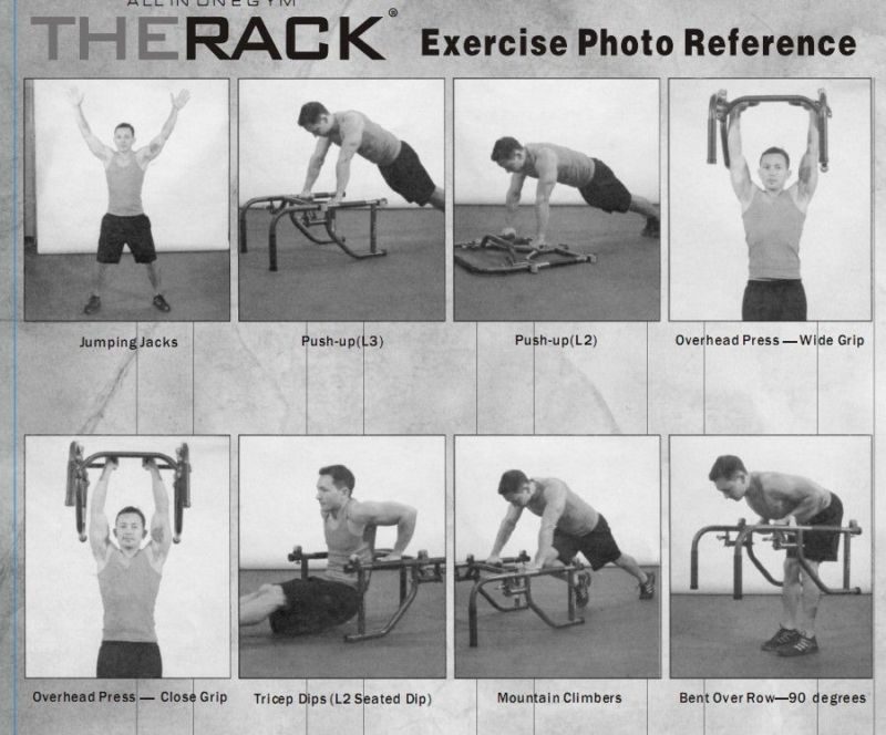 References The Rack Workout Pinterest Exercise