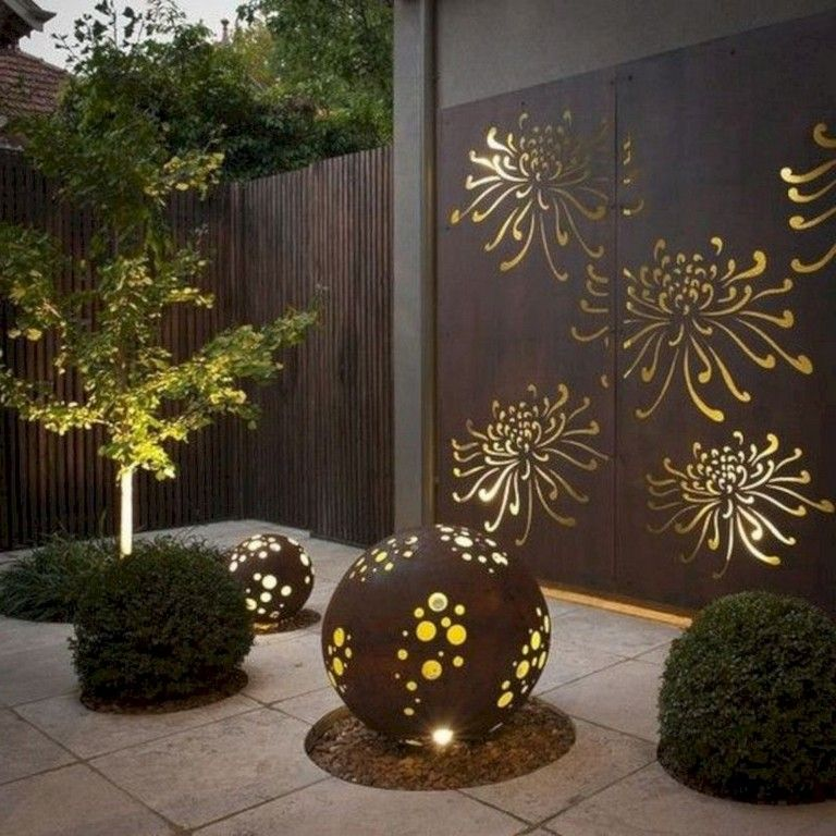 30 Adorable Yard Ornament For Your Own Outdoor Space Solar Lights Garden Smith Gardens Garden Design