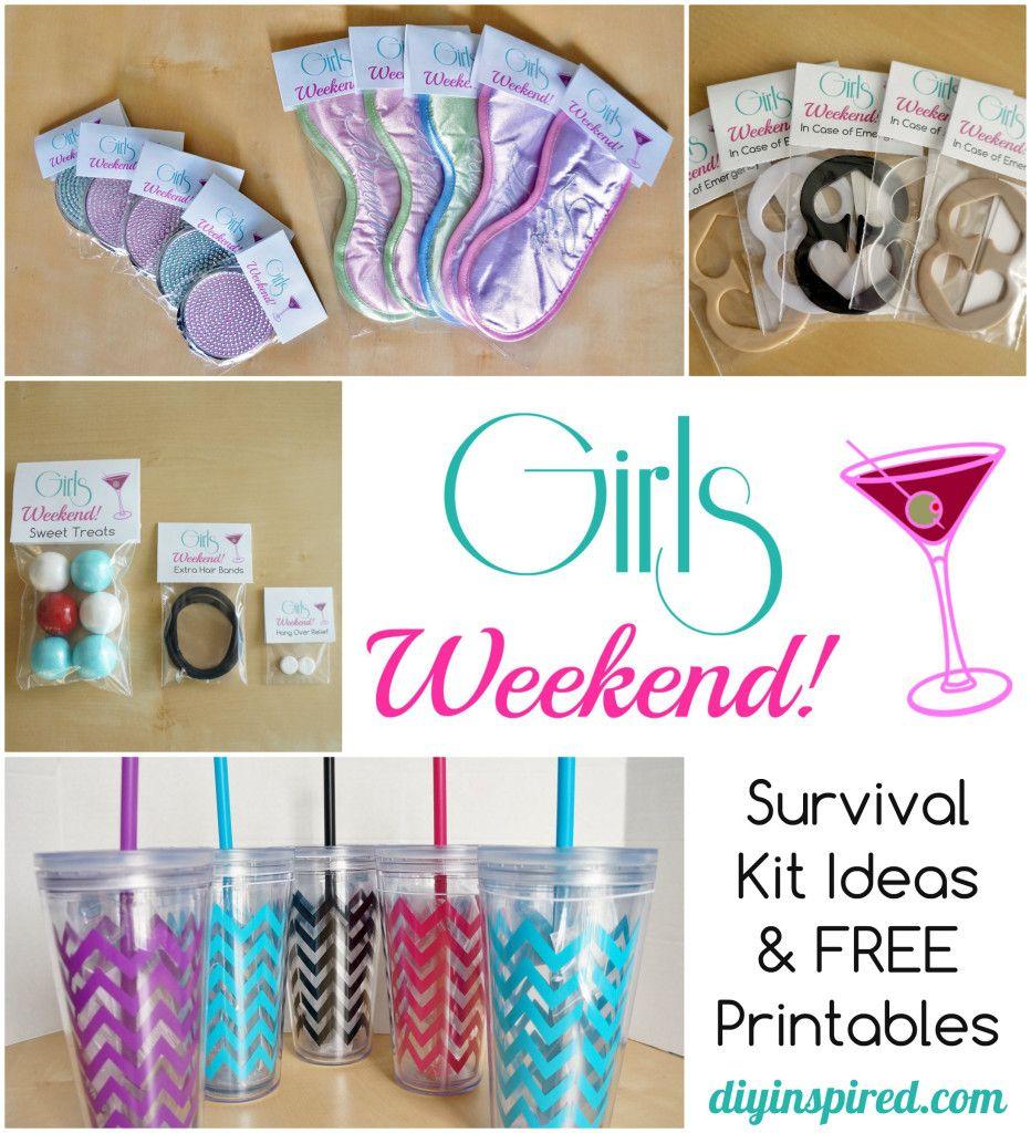 Diy bachelorette party favor ideas free printable diy for Bag decoration ideas