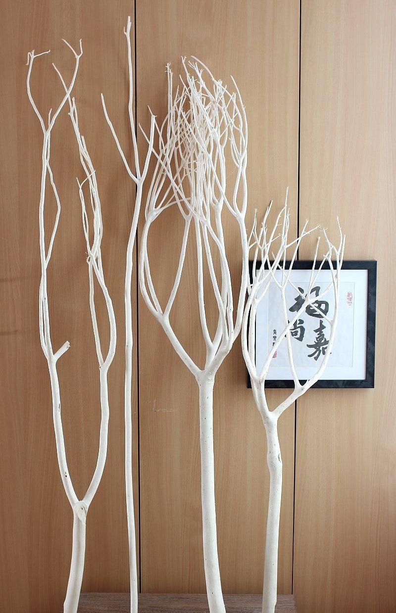 Branche de bois déco et pratique à la fois  idées artistiques d