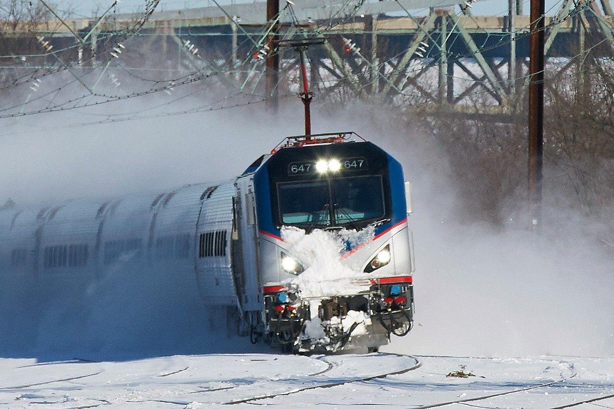 acs64, Amtrak, train, America, USA, railroad, railway
