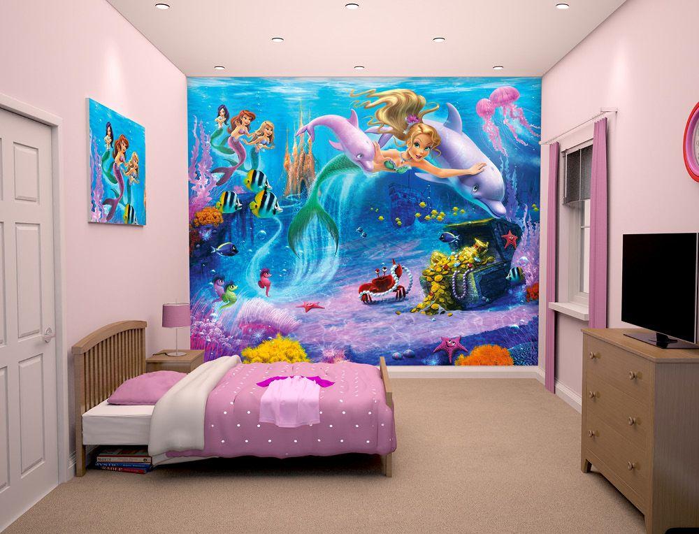 mermaids wallpaper mural wall murals ireland baby lp kids wallmermaids wallpaper mural wall murals ireland