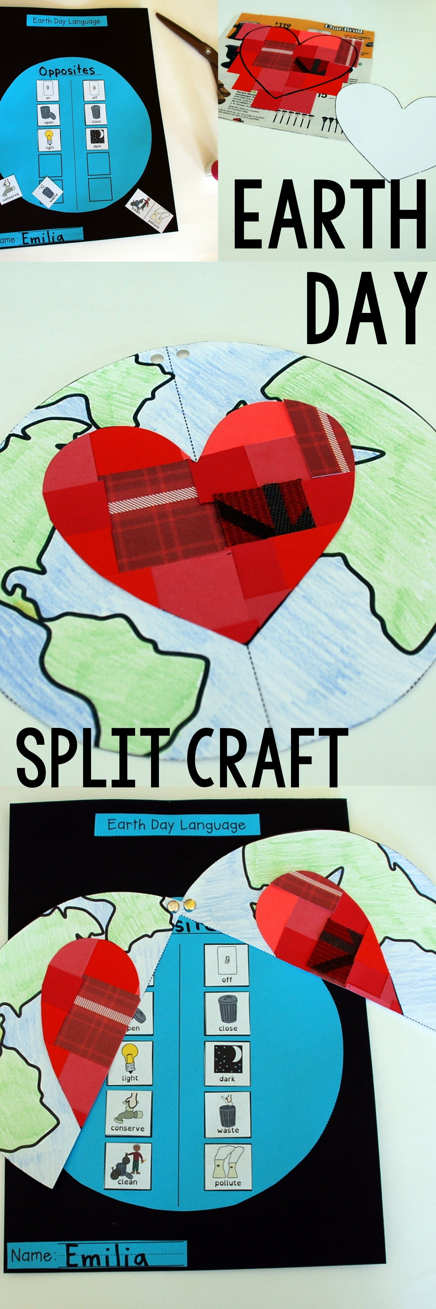 Earth Day Activities And Craft For Speech Therapy For