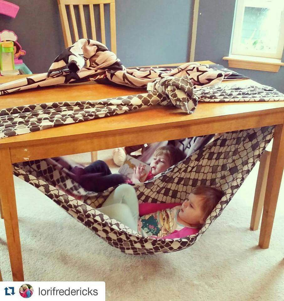 A Couple Of Meters Of Fabric Tied Over A Table Makes A