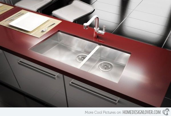 Functional Double Basin Kitchen Sink Images