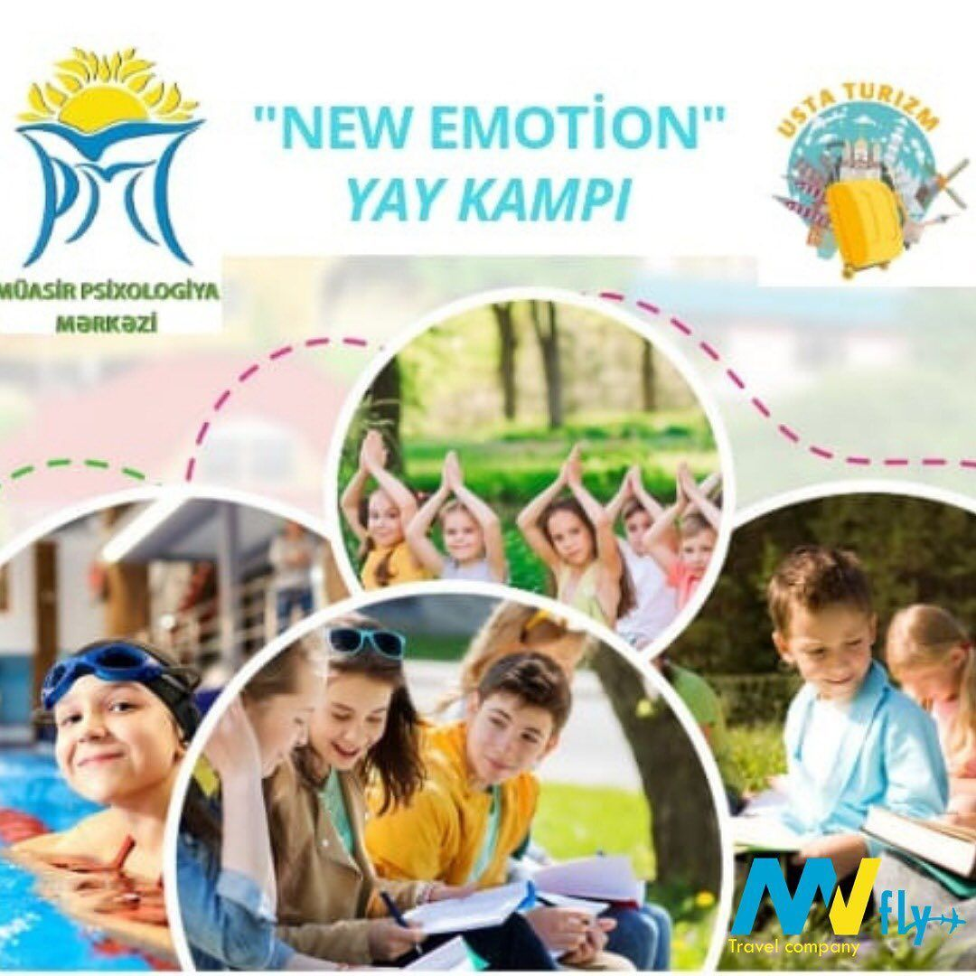 New Emotion Yay Proqramina Qeydiyyat Baslamisdir Yay ərzində Usaqlara Da Fly Travel Travel Companies Summer Camp