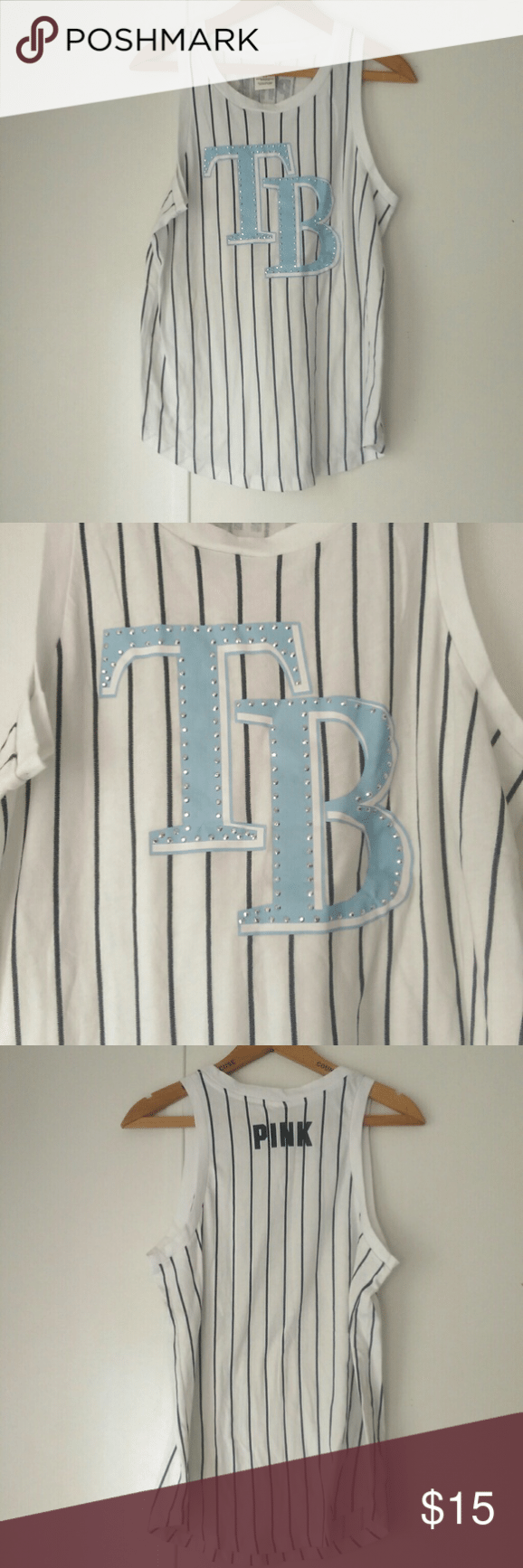 996e1bec PINK by Victoria's Secret Tampa Bay Rays Tank Tampa Bay Rays ...