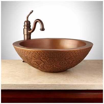 Copper Vessel Bathroom Sink Http Www Designbabylon