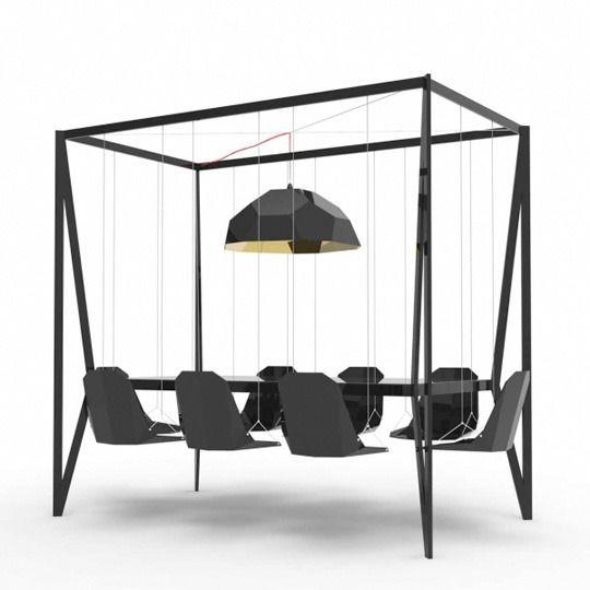 A swing table?!? I love it!