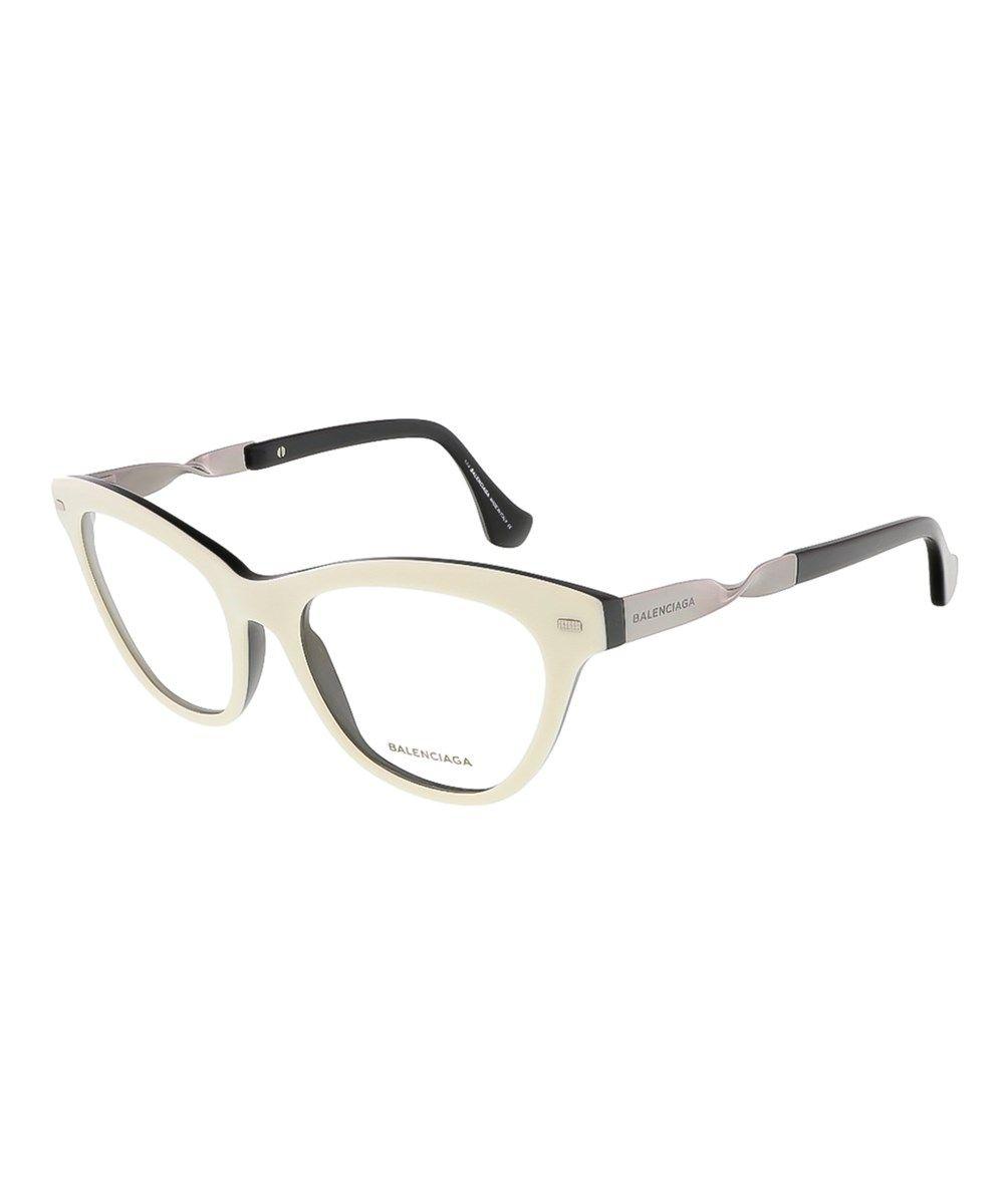 Ba5015/V 024 White/Black Cat Eye Prescription-Eyewear-Frames | Eye ...