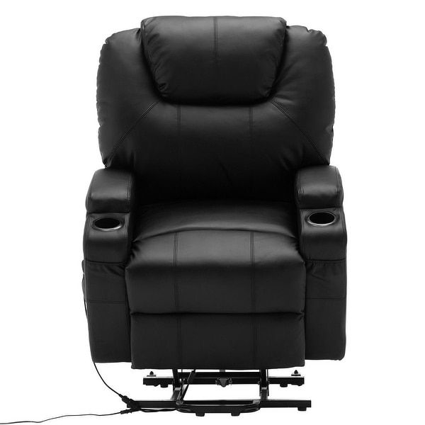 Costway Electric Lift Power Recliner Chair Heated Massage