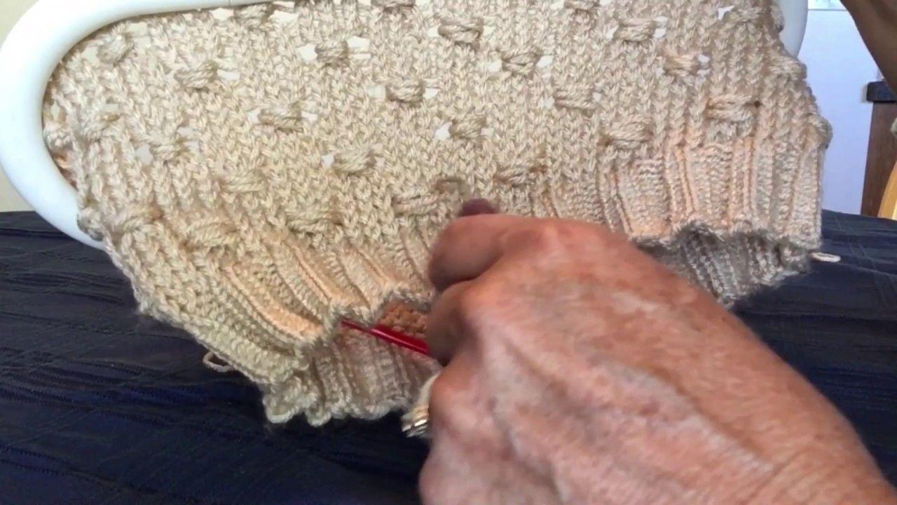 Cluster Stitch on a Knitting Loom | Martha Steward | Pinterest | Seda