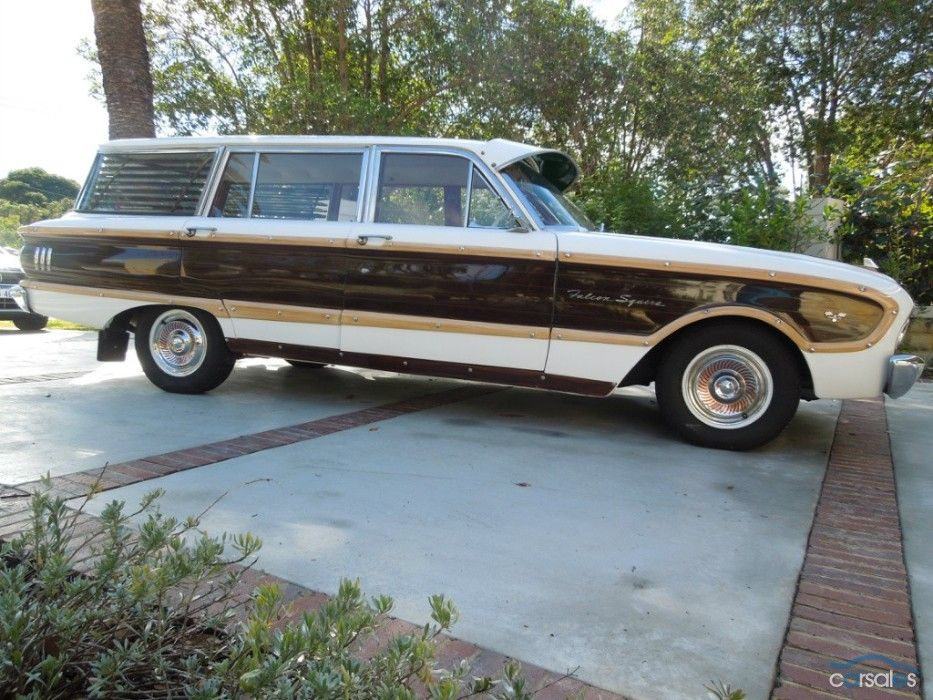 1963 Ford Falcon Xl Squire Wagon Camionetas Autos Vehiculos