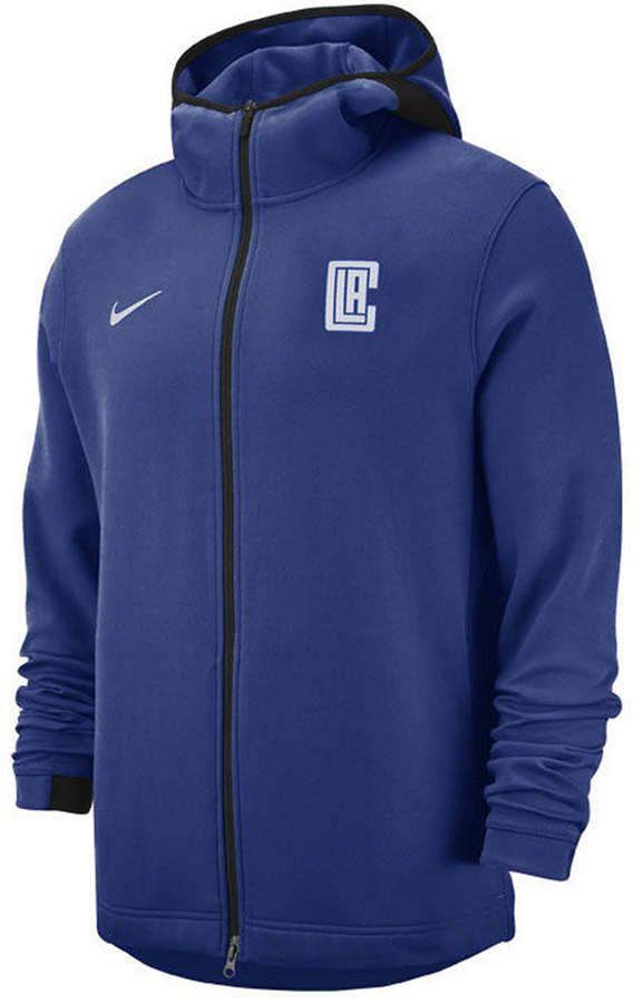 Nike Men Los Angeles Clippers Dry Showtime Full Zip Hoodie