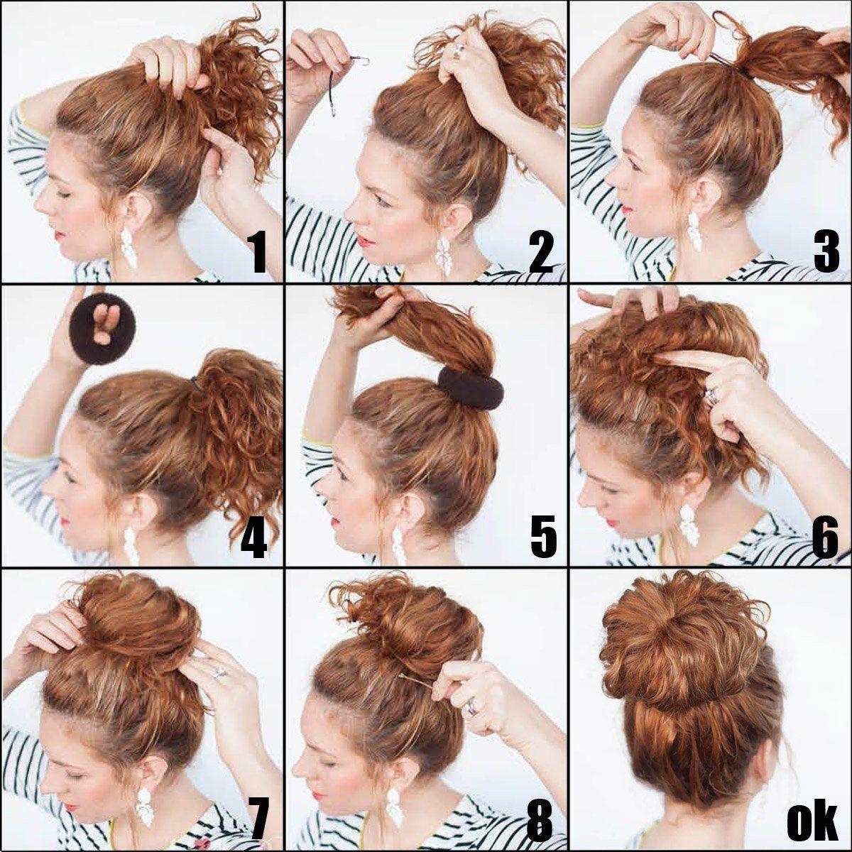 QY 9PCS Hair Mesh Chignon Donut To Make Hair Bun Best Age Reducing ...