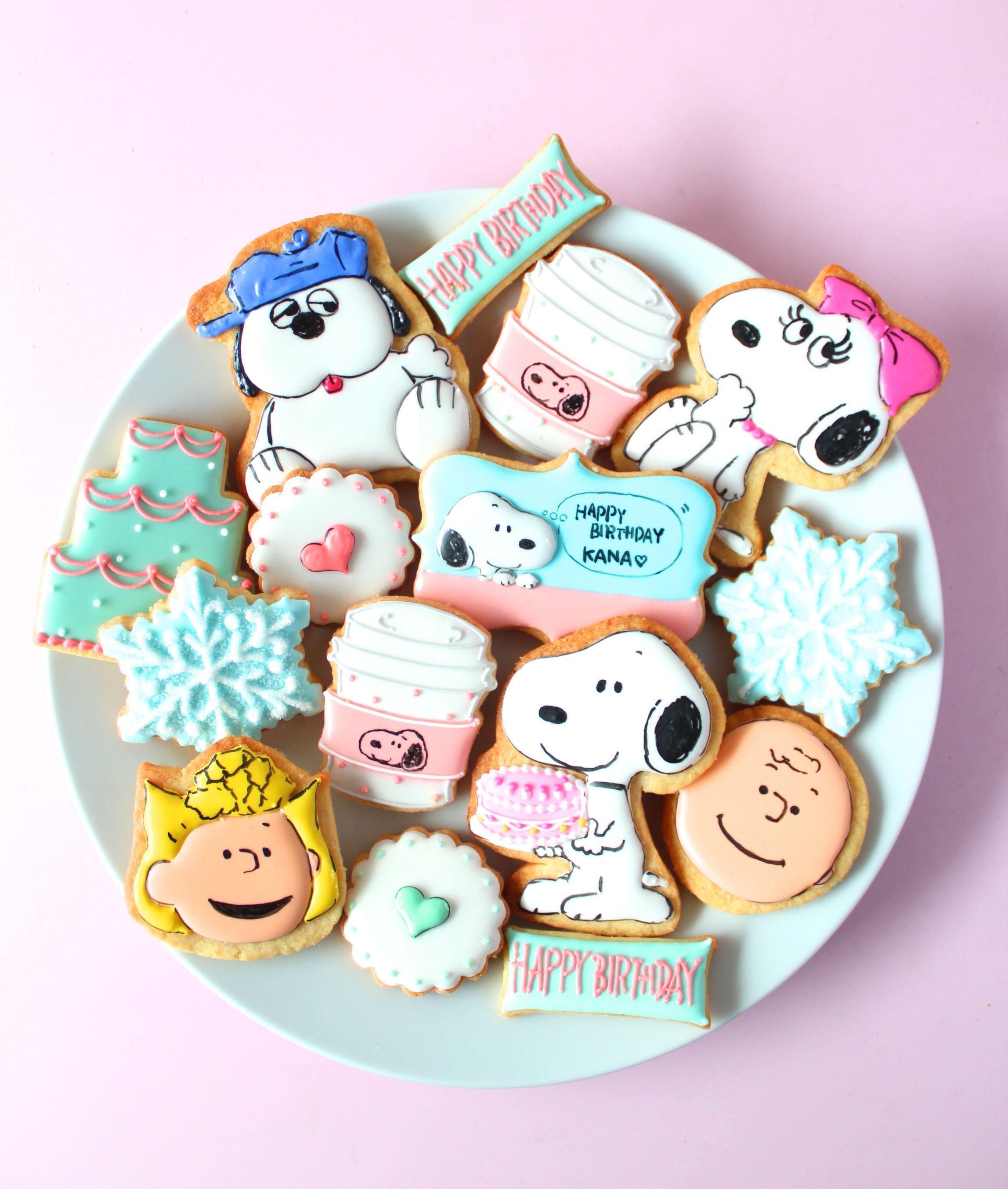 Snoopy cookies PEANUTS cookies