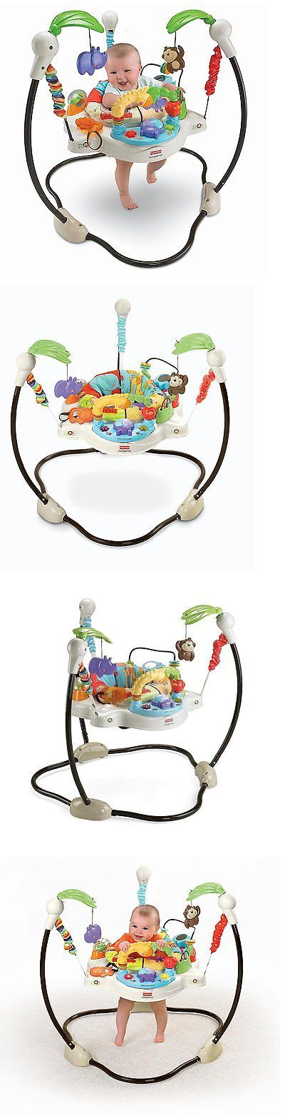 ed05d1126 Fisher-Price Luv U Zoo Jumperoo Baby Jumper Bouncer -- New