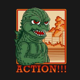 T Shirts By Opoyostudio Teepublic Godzilla Morty Fanart Rick And Morty Fanart