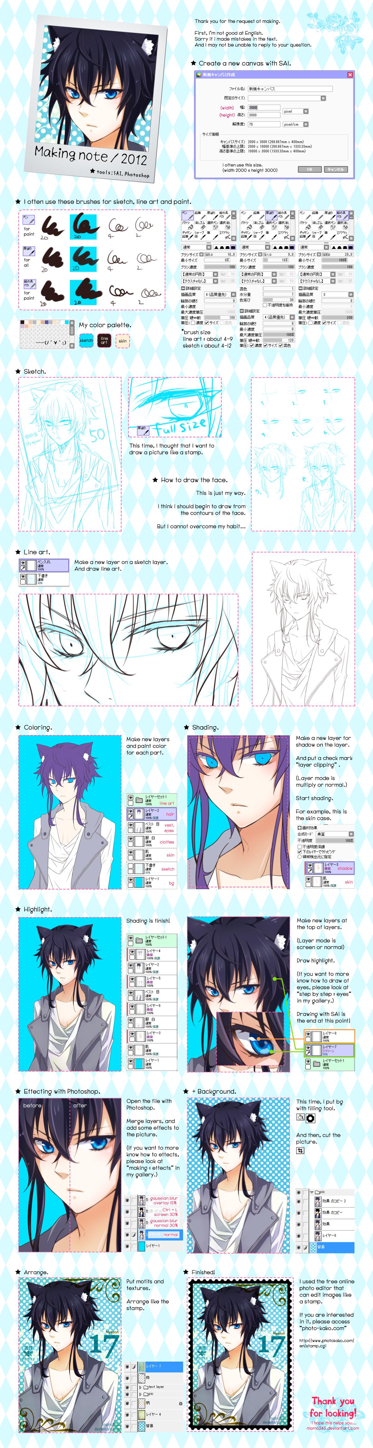 Making Note By Kazuha Y On Deviantart Digital Painting Tutorials Anime Drawings Tutorials Drawing Tutorial