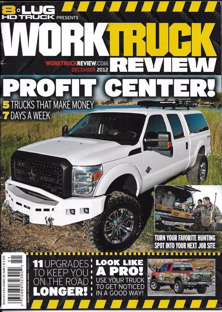 Work Truck magazine Upgrades Duck call business Ford AMP