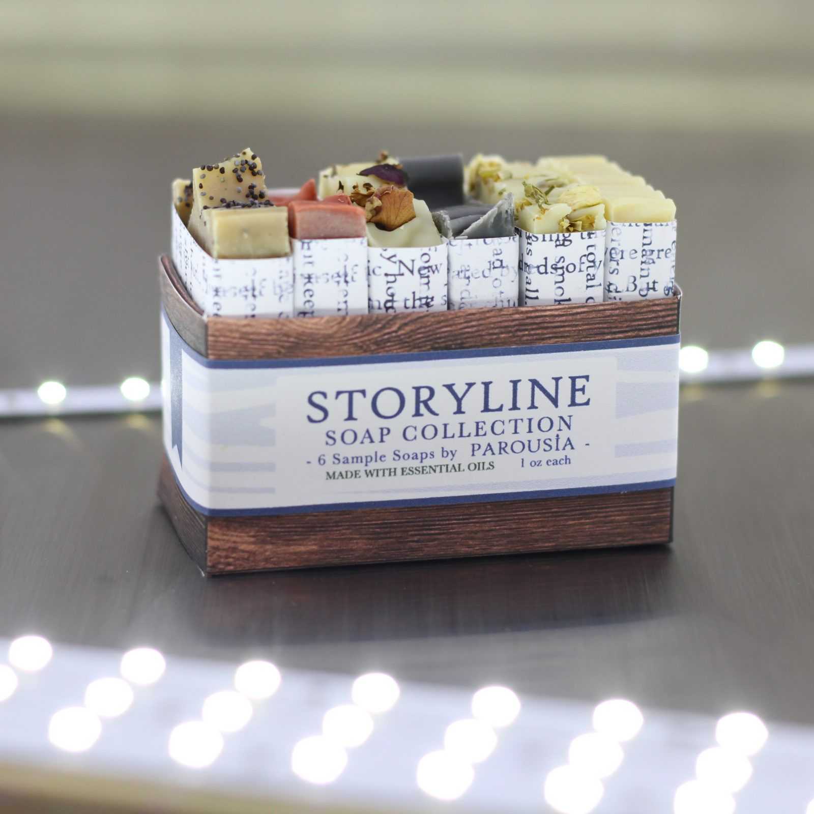 Storyline Soap Sampler all natural by parousia and old