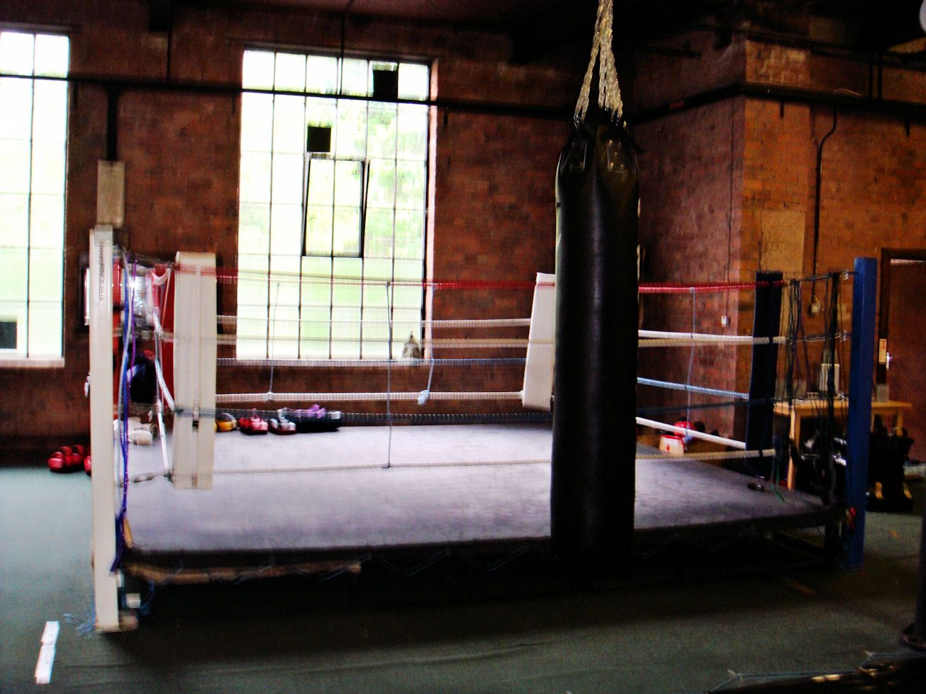 Old Boxing Gym Viewing Gallery Boxing Gym Vintage Boxing Gym Fight Gym